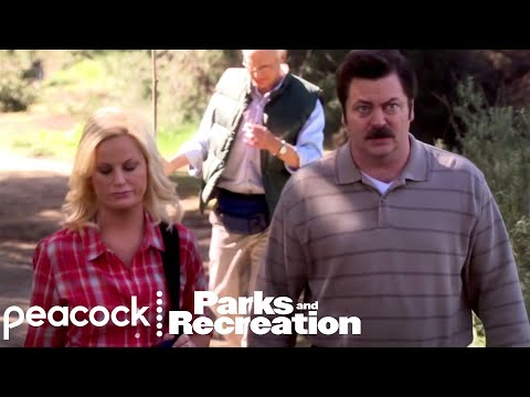 Grumpy Ron & The Picnic - Parks and Recreation