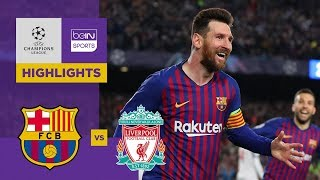 Barcelona 3-0 Liverpool | Champions League Highlights