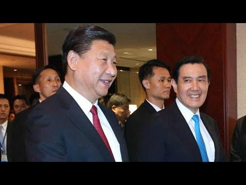 Xi Jinping, Ma Ying-jeou talk about Chinese mainland and Taiwan relations