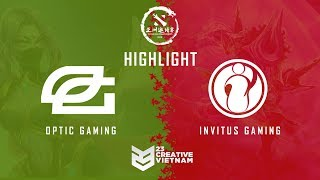 Highlight DAC 2018 | Main Event Day 1 |  Optic Gaming vs Invictus Gaming