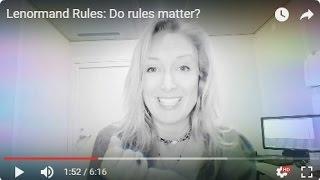 Lenormand Rules: Do rules matter?