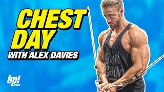 Great Chest Workout with TEAM BPI's Alex Davies