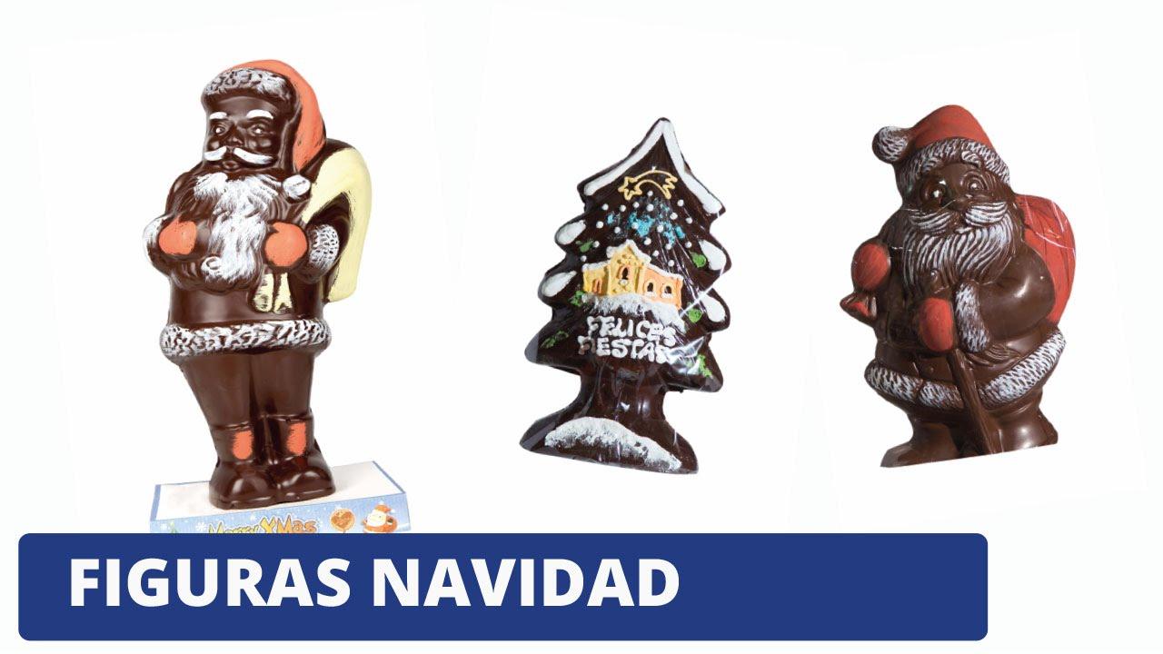 Figuras navidad chocolate youtube for Figuras para navidad