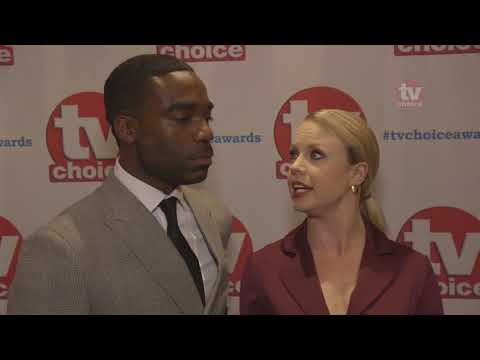 Ore Aduba and Joanne Clifton on Strictly 2017