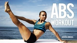 how to get a flat belly abs workout