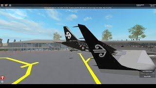 Air New Zealand Flight Part 1 | ROBLOX