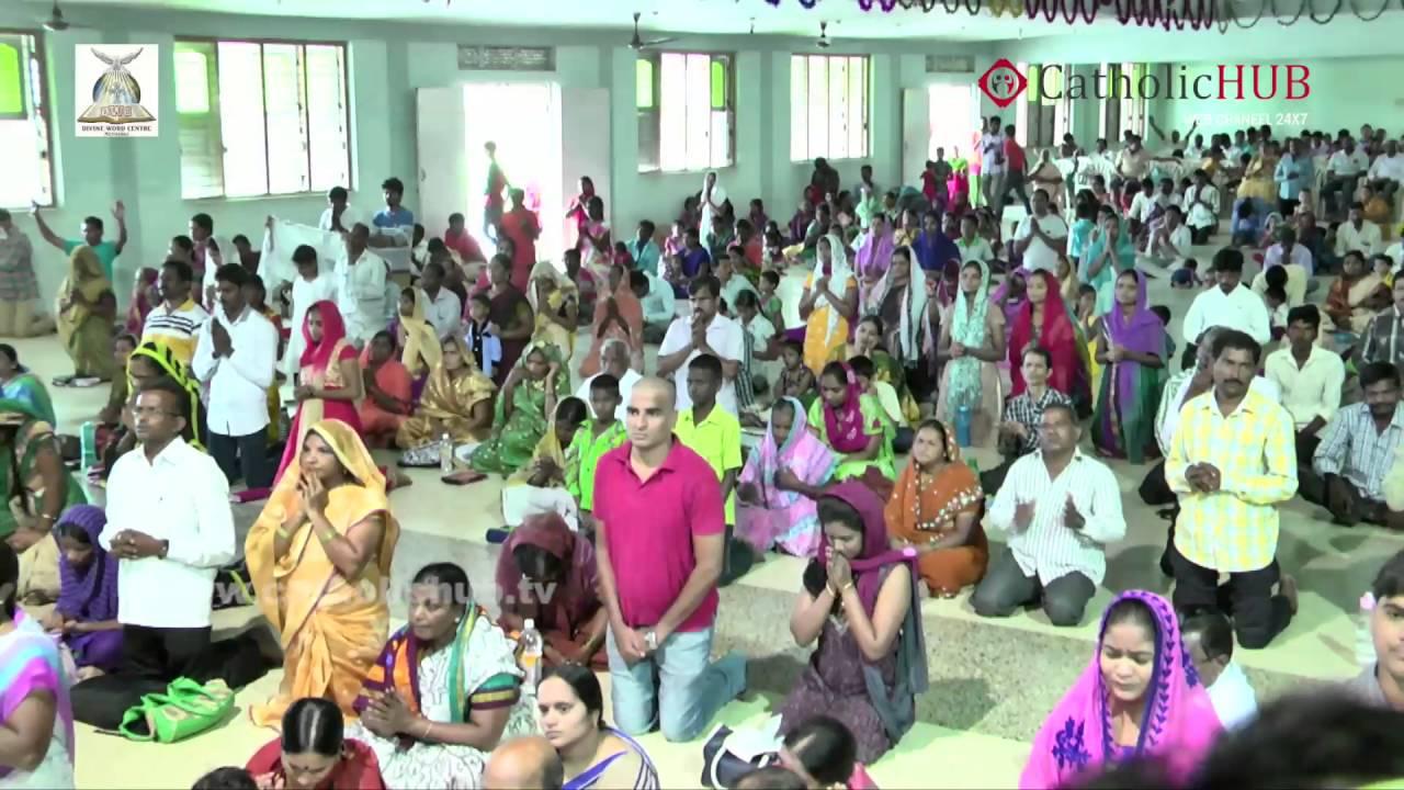 Word of God & Healing Prayer (Rev.Fr.Syril Doss - SVD) @ DWC,Muthangi, HYD,TS,INDIA,12-06-16