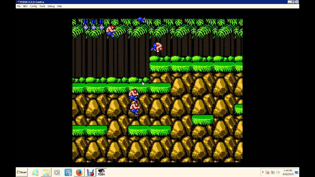 Goofy NES <b>Contra game Genie Code</b> - YouTube