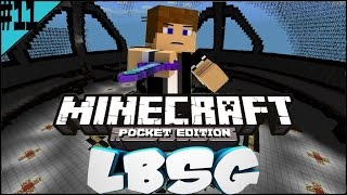 """Mcpe Hunger Games #11 """"GG 10 HEARTED NO SCOPE"""""""