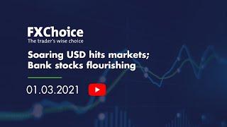 Webinar Soaring USD hits markets Bank stocks flourishing 01 03 2021