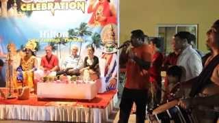 Sreejith Kunnamkulam Singing on Onam celebration Hilton Dubai