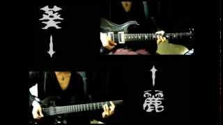 the GazettE PLEDGE Guitar Cover(TWIN)麗+葵 ツインギター