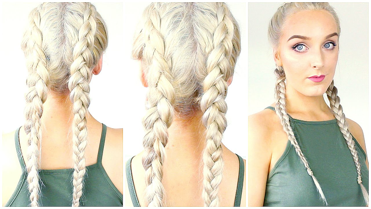 How To Dutch Braid Your Own Hair For Beginners