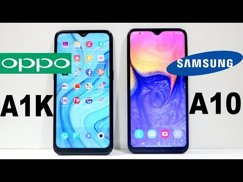 Oppo A1K Vs Galaxy A10 Speed Test