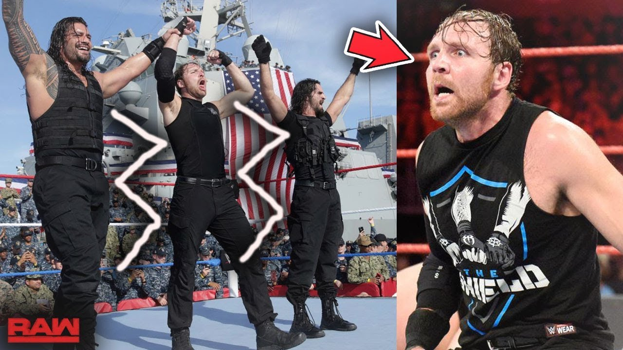 the shield breaking up immediately for this reason wwe raw youtube. Black Bedroom Furniture Sets. Home Design Ideas