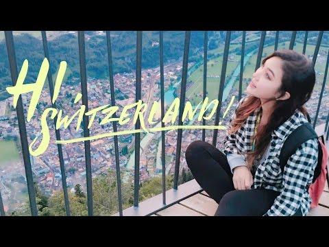 🇨🇭 Switzerland Travel Vlog : Zurich, Lucerne, Bern, Interlaken | Liah Yoo ❤