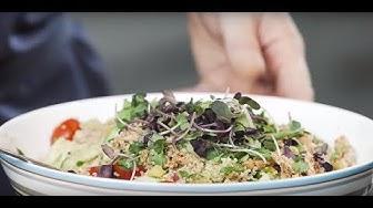 Kvinoasalaatti resepti. Lihakoulu | HK