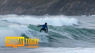 Visit The Popular Surfing Lodge Located Above The Arctic Circle | Sunday TODAY