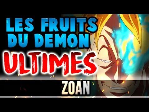 LES FRUITS DU DEMON ULTIMES : Zoan