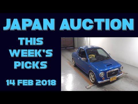 Japan Weekly Auction Picks 057 - 14 Feb 18