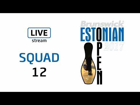 Brunswick Estonian Open 2017 - Squad 12 - Live Stream