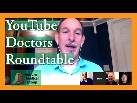 YouTube Doctors Roundtable with Doctors Carlo Oller, John Gilmore, Larry Mellick, and Mark Vaughan