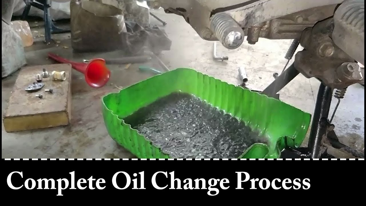 Complete Oil Change Process | Royal Enfield Bullet 500 | I, Me & Enfield