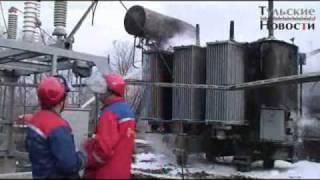 Пожар на трансформаторной подстанции в Плавске(, 2011-05-04T12:22:56.000Z)