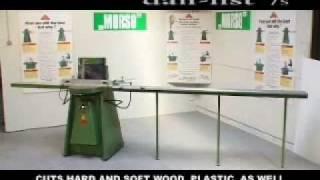 Morso EHXL, electric / hydraulic mitring machine