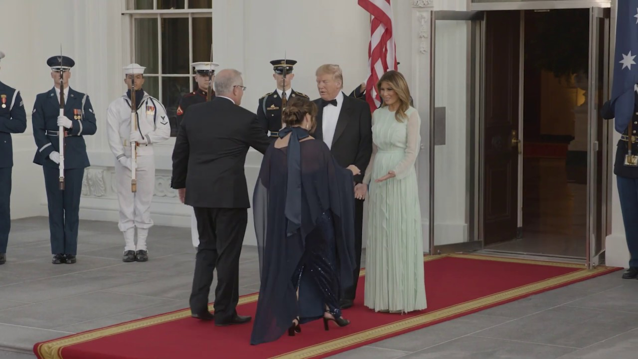 President Trump and the First Lady Host a State Dinner with the Prime Minister of Australia