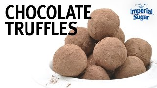 How To Make Chocolate Truffles By Chef Eddy Van Damme
