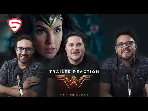 Wonder Woman Comic-Con Trailer Reaction!