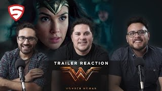 Wonder Woman Comic-Con Trailer Reaction!