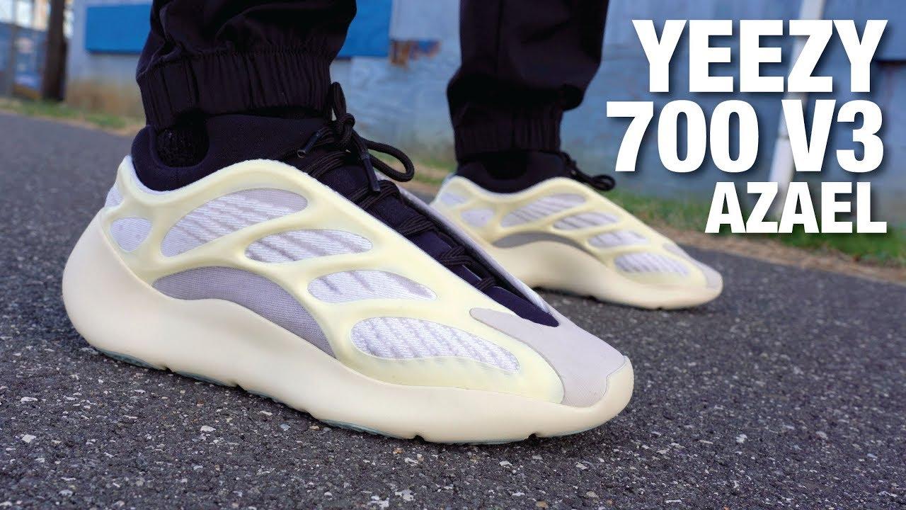 Adidas YEEZY 700 V3 AZAEL REVIEW & On Feet