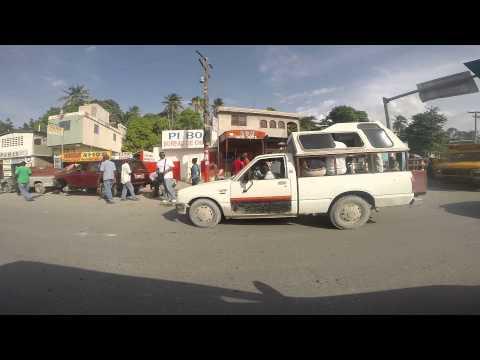 Driving Home Through Bon Repos & Delmas, Haiti