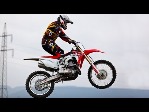 NEW HONDA CRF 250R & CRF 450R 2013 Video & Interview