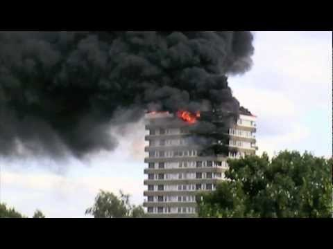 madingley tower block fire kingston upon thames doovi. Black Bedroom Furniture Sets. Home Design Ideas