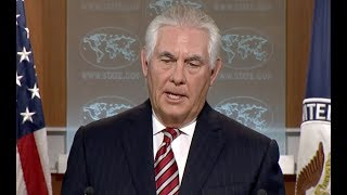Tillerson Quizzed On Trump's New Afghanistan Policy - Full News Conference