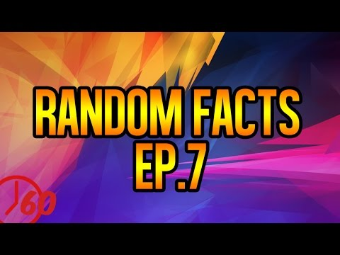 60 Seconds Of Random FACTS Ep. 7