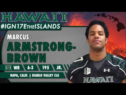 University of Hawaii Football Mid-Year Signee Marcus Armstrong-Brown