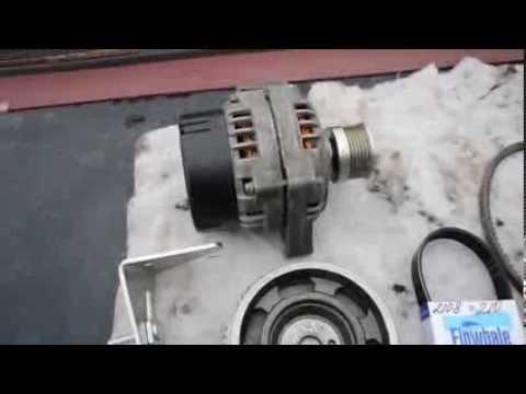 ВАЗ 2109 1,5L ННО Dry сell generator - YouTube