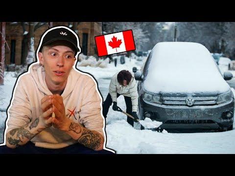 L'HIVER AU CANADA