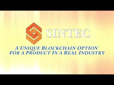 SINTEC - A Unique Blockchain Option For a Product In a Real Industry