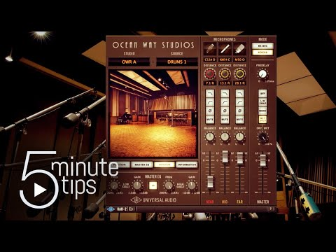5-Minute UAD Tips: Ocean Way Studios Plug-in