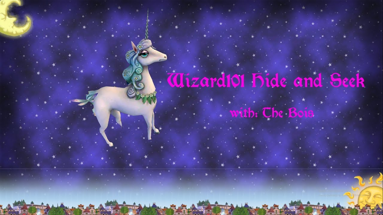 Playing Hide and Seek In Wizard101 || Wizard101 ||