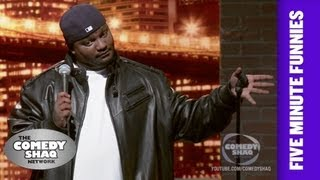 Aries SpearsYou cant make horror movies with usShaqs Five Minute FunniesComedy Shaq