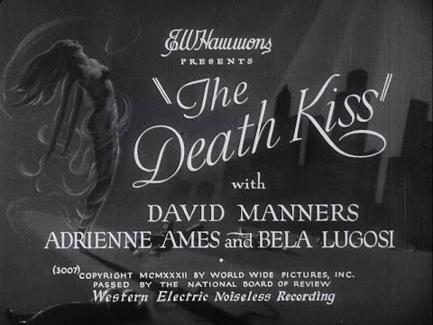 BELA LUGOSI in The Death Kiss (1932)
