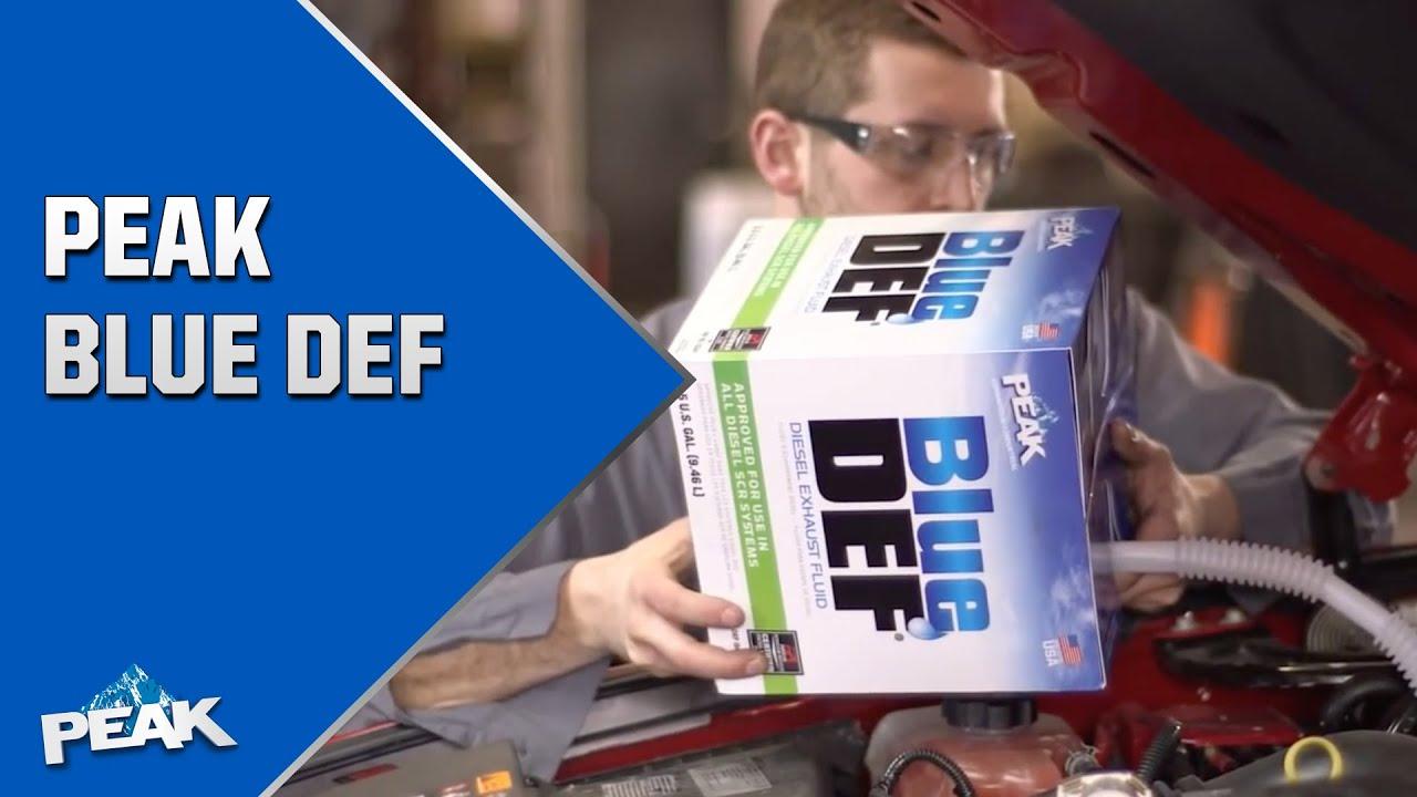 def peak bluedef diesel exhaust fluid peak commercial and industrial youtube. Black Bedroom Furniture Sets. Home Design Ideas