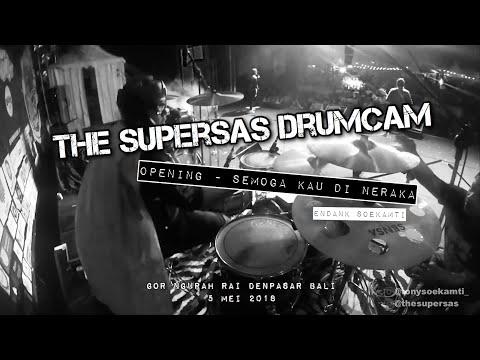 Endank Soekamti - Opening + Semoga Kau Di Neraka   DRUMCAM