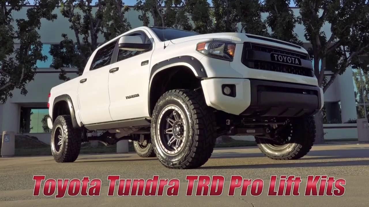 Toyota Tundra Trd Pro Lift Solutions From Readylift Youtube 2004 Double Cab Lifted